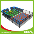 Kinder-Indoor-Trampolin-Bereich