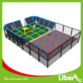 Großes Indoor-Trampolin-Bodentuch