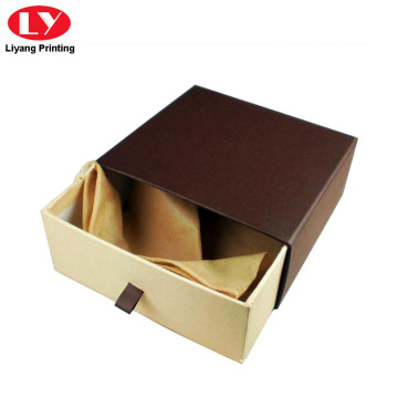 Kraft Paper Belt Packaging Laci Box