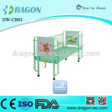 DW-CB02 Adjustable plastic cartoon children Bed for hospitals