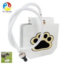 2017 Mise à jour Date pied-step en plein air animal de compagnie fontaine d'eau fontaine à boire pour animaux de compagnie Automatique Pet Dog Cat Distributeur d'eau