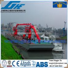 knuckle boom hydraulic deck marine ship crane