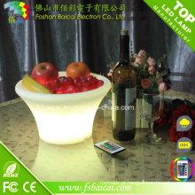 Favoritos Comparar Plastic LED Ice Cubeta com Bateria recarregável