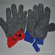 Порезостойкие сетка из нержавеющей стали перчатки для защиты