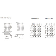 2,0 pulgadas, 5,0 mm DOT (GNM-20571Ax-Bx)
