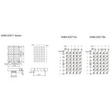 2,0 polegadas, 5,0 mm DOT (GNM-20571Ax-Bx)
