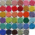 20mm Farbe Gumball Acryl Solid Beads
