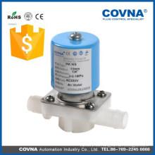 Resistente a la corrosión PTFE PVC PP electroválvula selector desviador electroválvula