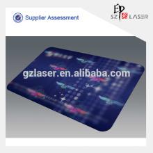 Изготовленный на заказ держатель карточки удостоверения личности алюминиевой пластмассы голограммы