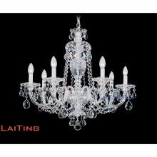Maria Theresa Gold Clear K9 Crystal Chandelier LED Crystal Lustre Light para cocina Hallway LT-81146