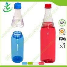 Bouteille d'eau à base de soda Tritan personnalisée 600ml, bouteille à jus de fruits (DB-G1)
