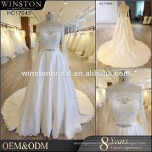 New Design Custom Made wedding dress guangzhou wedding dresses arabic style