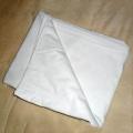 Taie d'oreiller 100% coton blanche décorative