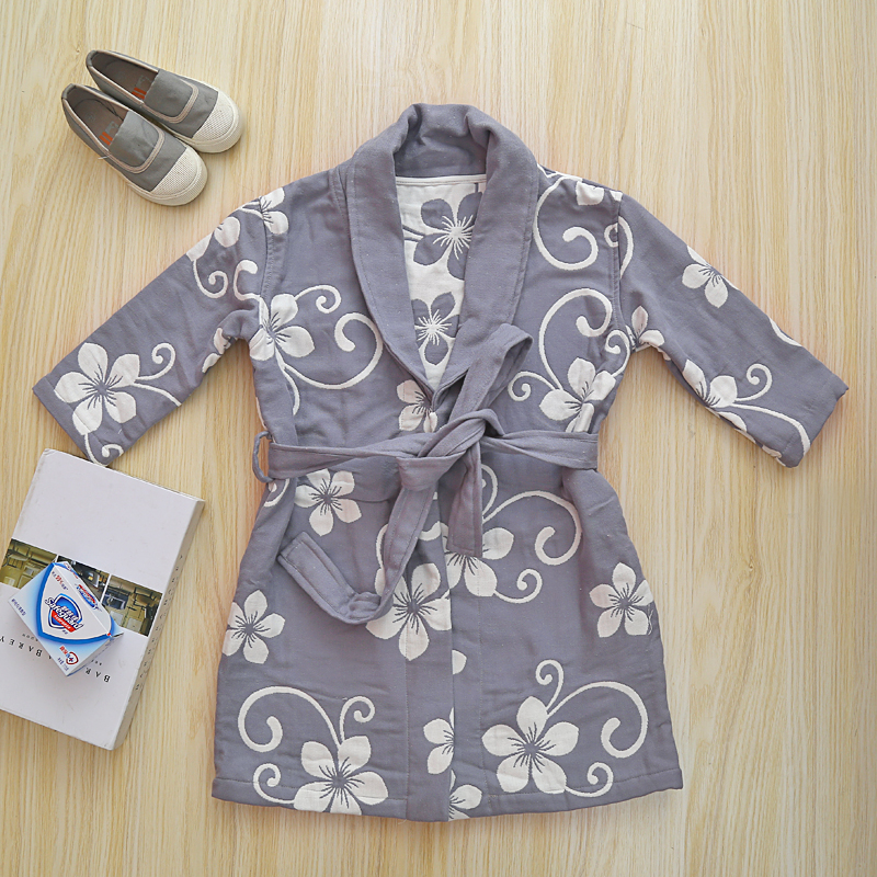 Lightweight Cotton Bathrobe