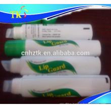 lip gloss tube/lip balm/plastic/transparent/cosmetic tube