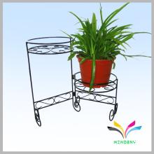 De hierro forjado clásico de pie flor pantalla de la planta de la planta de flor