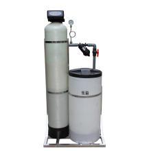 Amortecedor de água automático da regeneração da resina da troca de íon do único tanque
