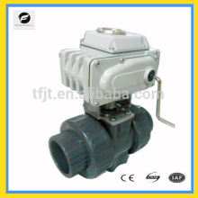 """AC220V CTB010 2"""" PVC control motor electric valve for heat energy meters and reuse of rainwater and reuse of grey water system"""