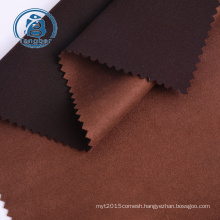 knit polyester spandex scuba suede fabric wholesale for dress