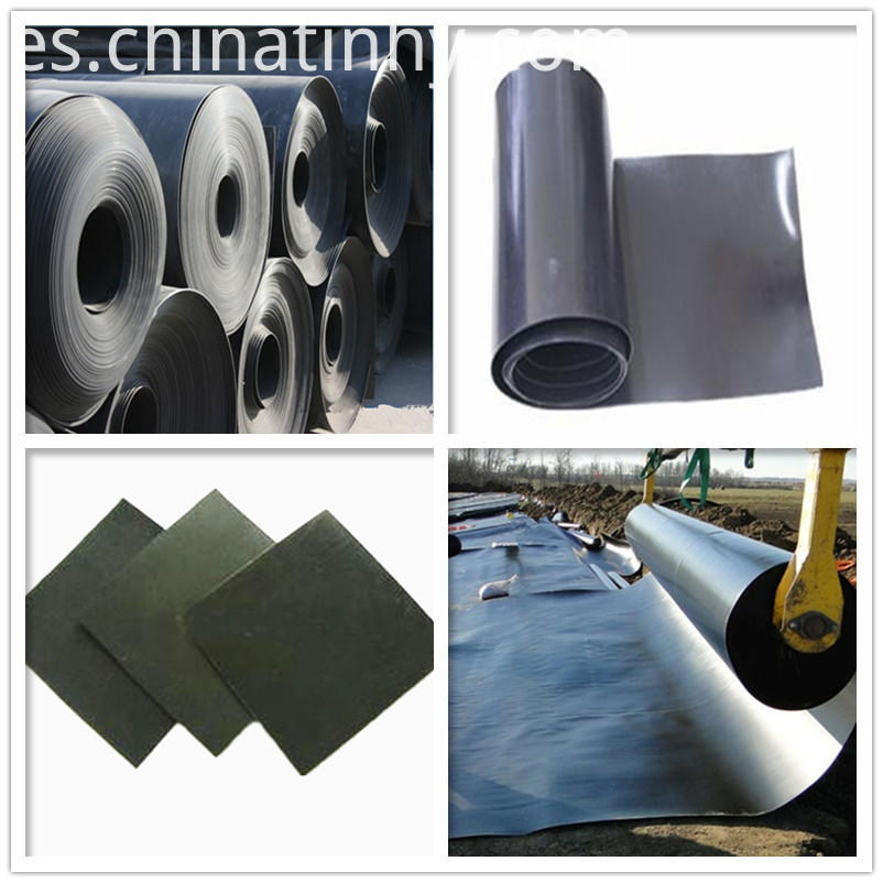 HDPE pond liner 1.0mm smooth waterproofing geomembrane