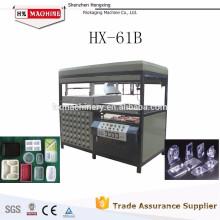 Blister semi-automatique semi-automatique de vide de station de HX-61B formant la machine