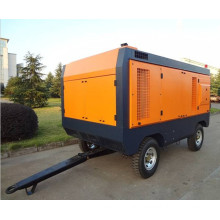 industry mobile screw compressor for mining application