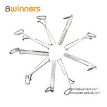 Braçadeira de fio de gota de cabo de fibra óptica de alumínio