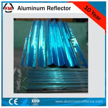 fluorescent light louvers material