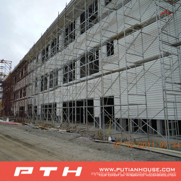 Armazém do aço de pouco custo da construção de aço do custo do projeto de Pth Prefab Custormized 2015