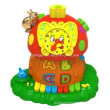 Magic Mushroom Funny Clock Musical Instrument Toys