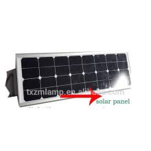 DC12 / 24V 10 ~ 80W tudo em uma luz de rua solar integrada da luz de rua solar
