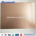 Panneau composé de cuivre pour des panneaux de mur de remorque