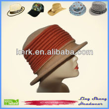 100% Wool Bucket Hat With Thread Style Winter Hat