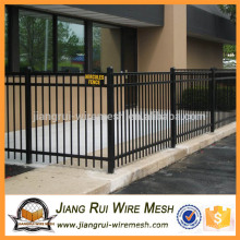 Galvanized steel fence palisade fence