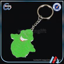 happy Green monster keychains thailand