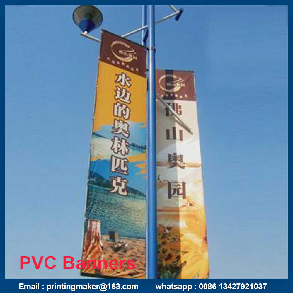 street hanging banners