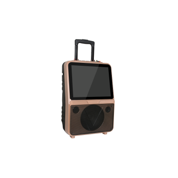 Trolley Party Portable Bluetooth speaker dengan Layar