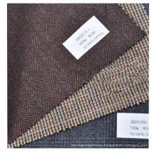Clearance stock 100% woven wool herringbone heavy fabric for jacket