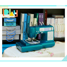 Small Multi Language Household Domestic Home Sewing Embroidery Machine