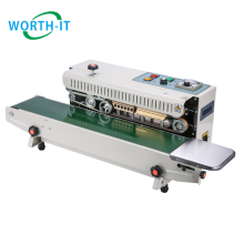 Ready to ship product automatic countionus band sealer bag sealing machine