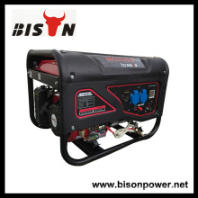 Bison China Zhejiang 3KW 6.5HP tragbare Benzinmotor Elektrizität Generator System Generator