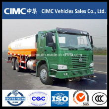 Carro de tanque de combustible de Sinotruk HOWO 6X4 22000L