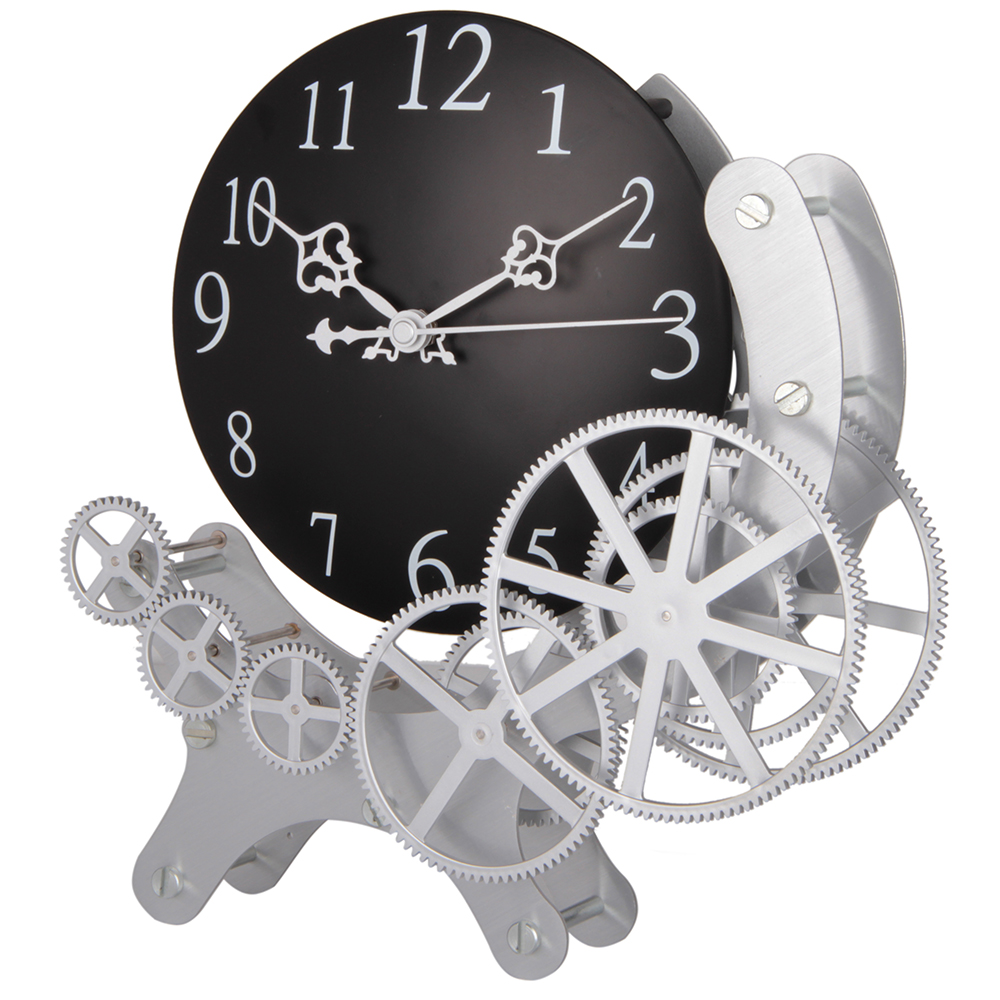 Gear Desk Clock Wiith 5 Rings
