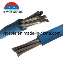 Алюминиевый кабель, электрическое сопротивление провода электропровода алюминиевого провода AA SD (BLV (H07VV-F / H05VV-F))