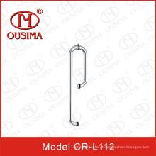 Puxador da porta do chuveiro do aço inoxidável para a porta de vidro 8-12mm