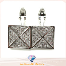 Popular and Fashion Jewelry Charm 925 Sterling Sliver Jewelry Cufflink (A11C003)