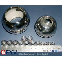 Billes de vanne en acier inoxydable de haute qualité pour vanne à bille