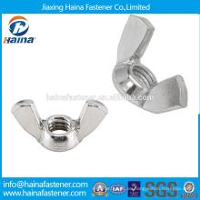 China Proveedor En existencia DIN315 Acero inoxidable tornillo de pulgar