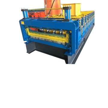 Superior Double Plate Colour Steel Roll Forming Machine