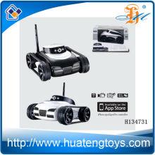 2014 Heißer Verkauf 4ch iphone controll Spielzeugbehälter mit Realzeitübertragungkamera, iphone wift controll trank Spielzeug H134731